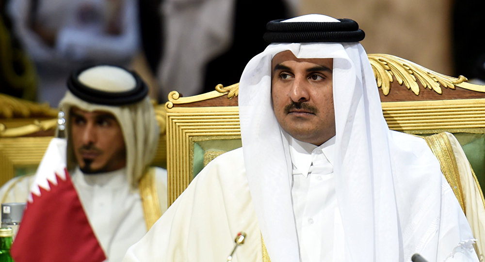 Emir do Qatar Tamim bin Hamad al-Thani