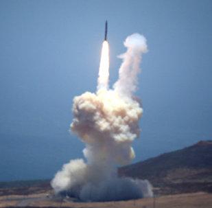 Lançamento de míssil balístico intercontinental dos EUA