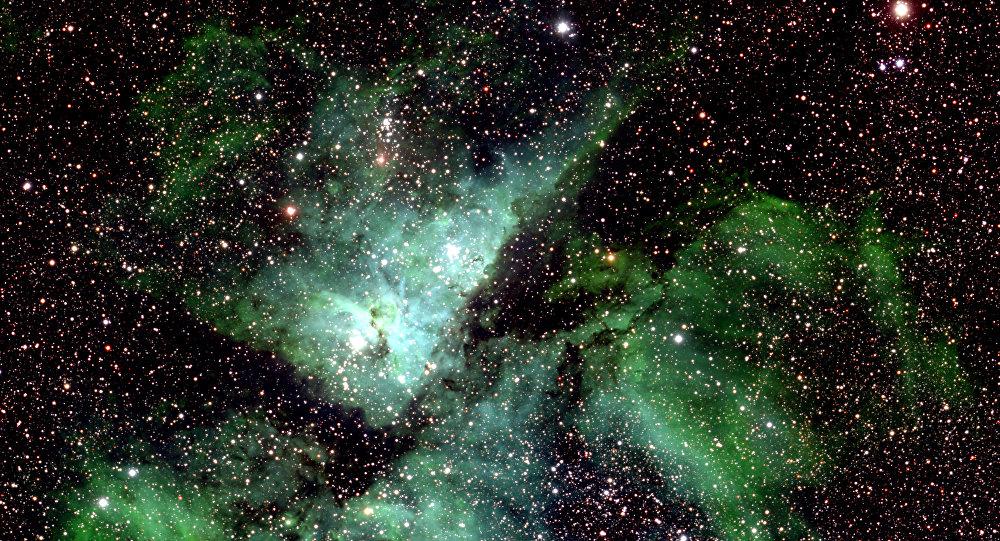 Uma parte pequena da Via Láctea (imagem referencial)