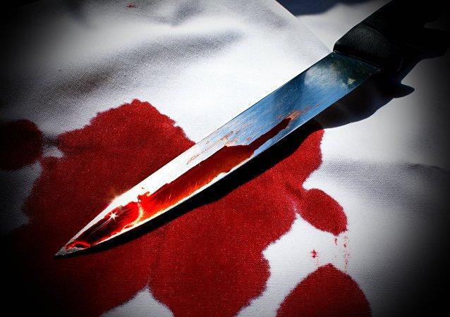 Uma faca (imagem ilustrativa)