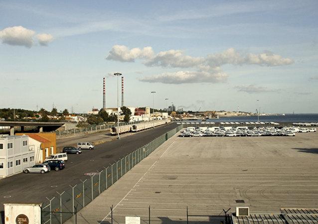 Porto de Setúbal (foto de arquivo)
