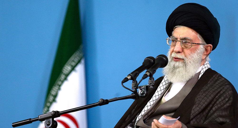 Líder supremo do Irã, aiatolá Ali Khamenei, foto de arquivo