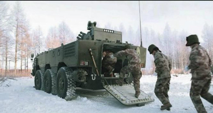 Chinese Troop carrier