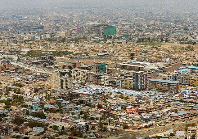Vista geral de Cabul, capital do Afeganistão