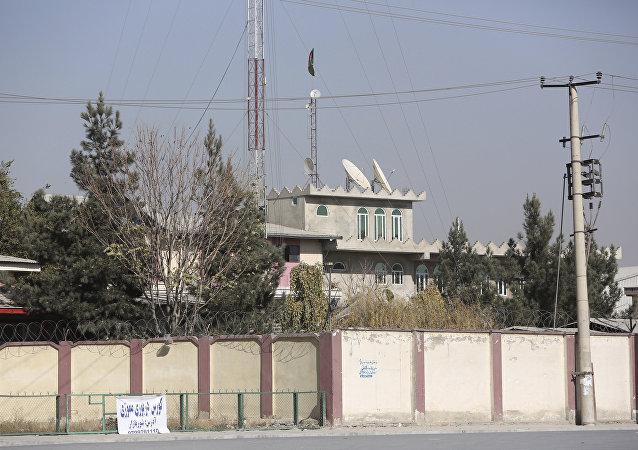 Vista geral da estação televisiva Shamshad em Cabul, Afeganistão, 7 de novembro de 2017