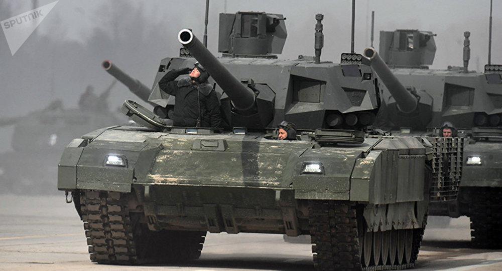 Tanque russo T-14 Armata