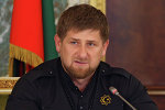 Líder da Chechênia Ramzan Kadyrov