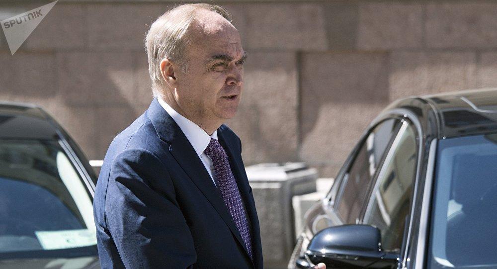 Embaixador da Rússia nos EUA, Anatoly Antonov