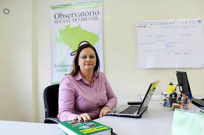Diretora e uma das fundadoras do Observatório Social Brasil, Roni Enara