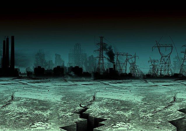 Fim do mundo (imagem ilustrativa)