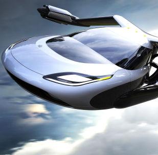 Carro voador TF-X da empresa Terrafugia
