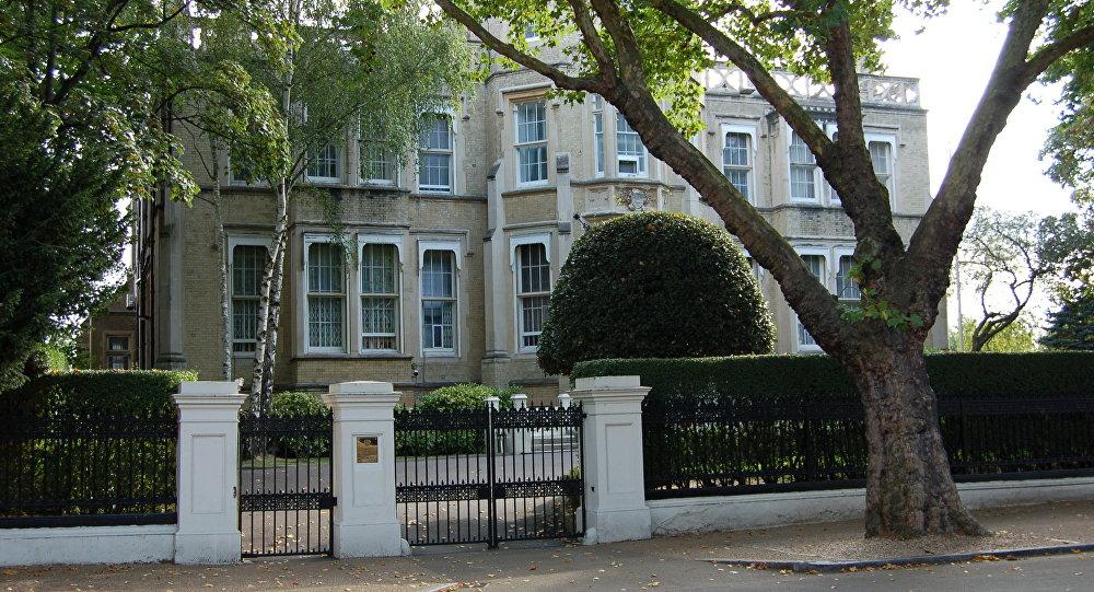 Embaixada da Rússia em Londres, Reino Unido (arquivo)