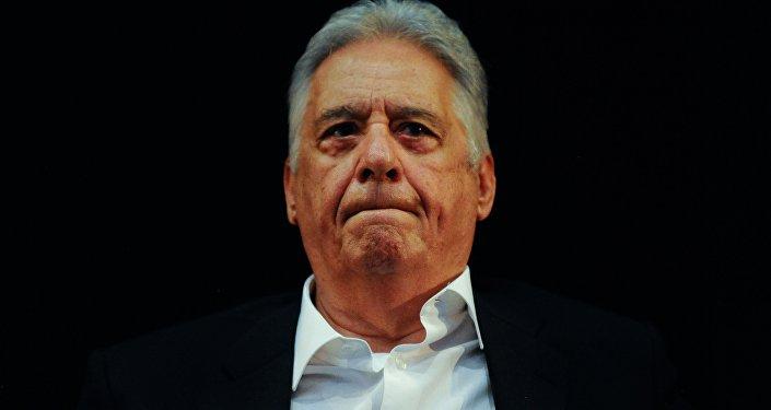 Fernando Henrique Cardoso em evento sobre política de drogas (foto de arquivo)