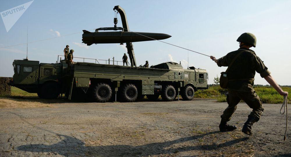 Sistema de mísseis Iskander-M
