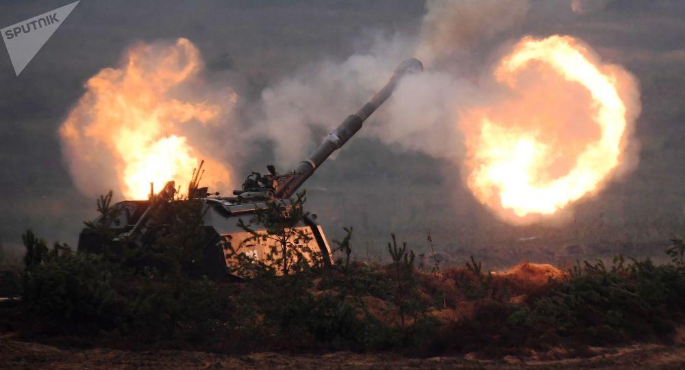 Peça de artilharia autopropulsada Msta-S