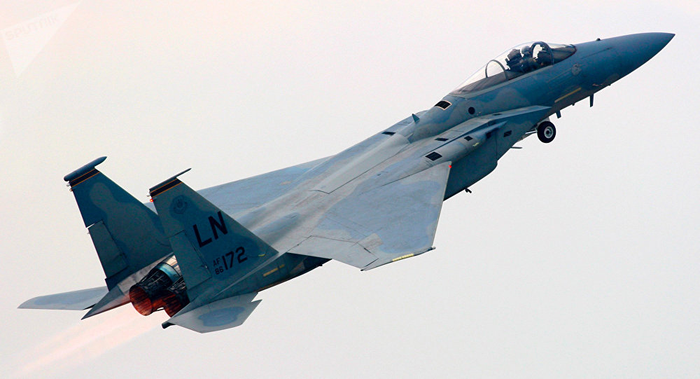 F-15 da Força Aérea dos EUA