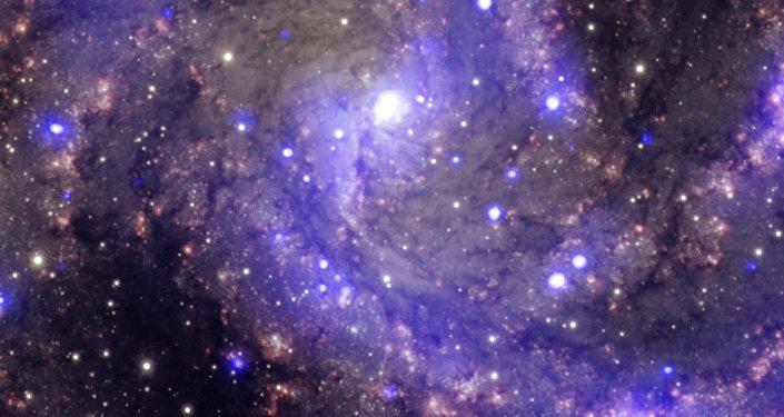 Galáxia espiral (imagem ilustrativa)
