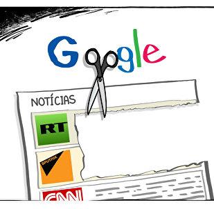 Google corta notícias que não são do seu agrado, ou seja, as russas
