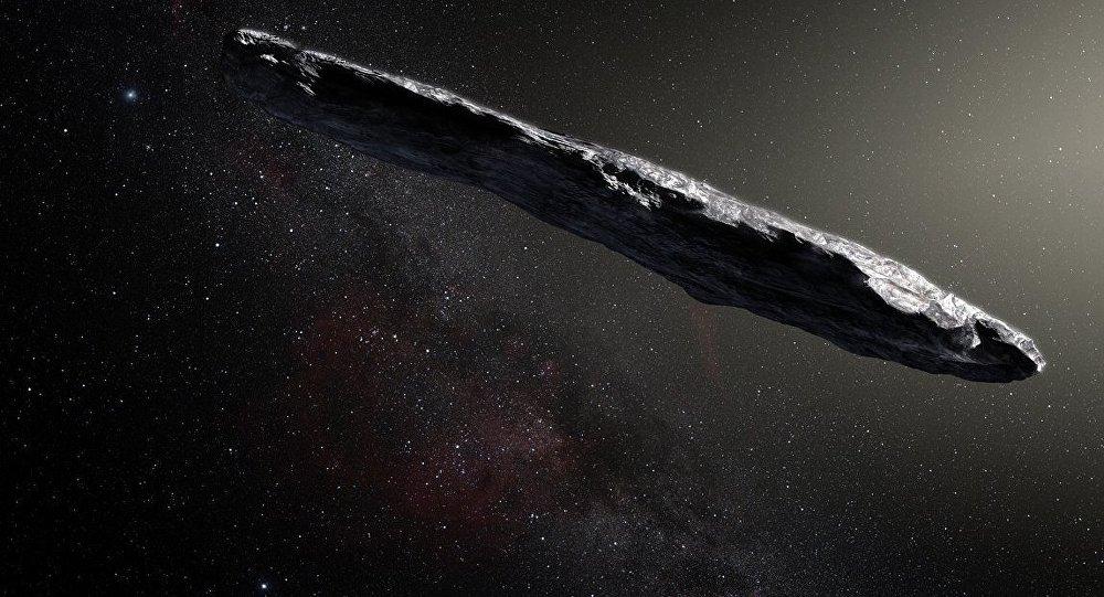 O asteroide Oumuamua
