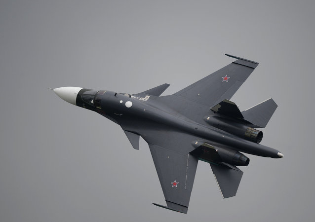 Su-34 Fullback strike aircraft