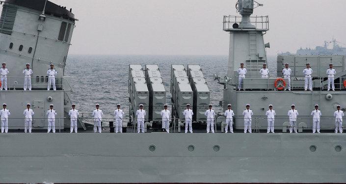 Força naval da China