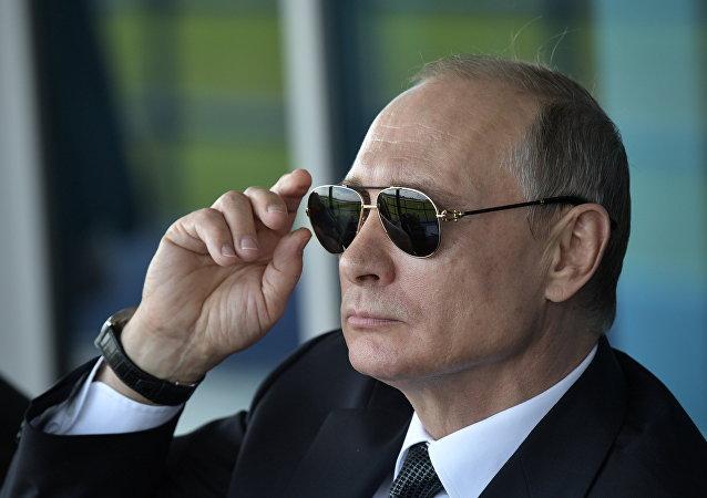 El presidente ruso Vladimir Putin (archivo)