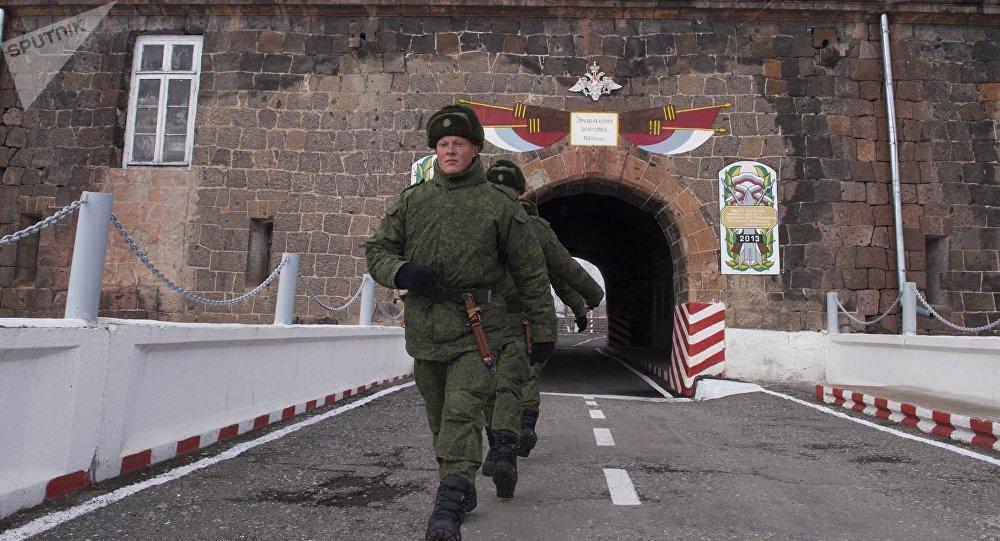Base militar russa n.º 102 na Armênia