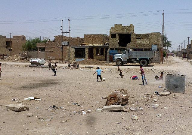 Vila em Nahrawan, Iraque, a sudeste de Bagdá (arquivo)