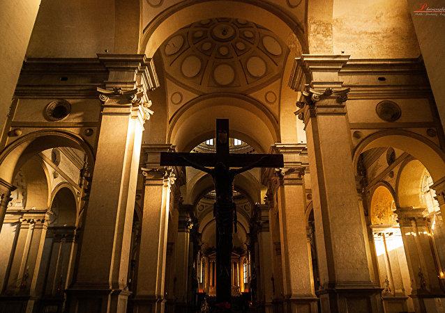 Escultura de Cristo
