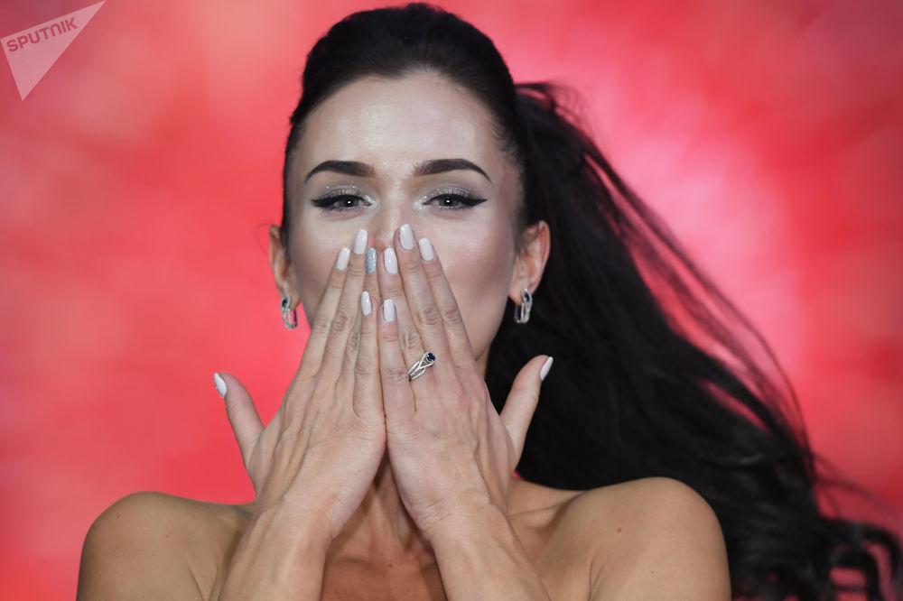 Vencedora do concurso Miss Moscou 2017, Elizaveta Lopatina