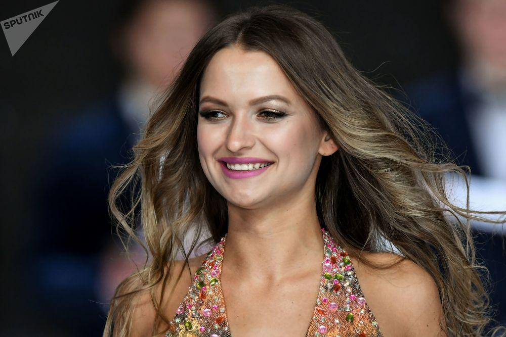 Natalia Firsova, uma das participantes do concurso Miss Moscou 2017