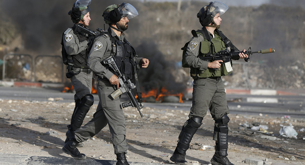 Guarda fronteiriça de Israel (foto de arquivo)