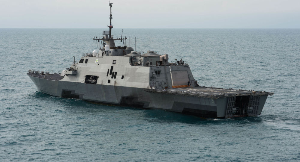 Fragata da Guarda Costeira dos EUA, Fort Worth LCS-3 (foto de arquivo)