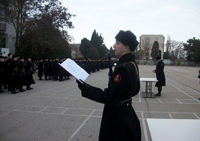 Yann Avril presta juramento à Federação da Rússia em 25 de dezembro de 2010