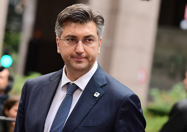 Andrej Plenkovic, primeiro-ministro da Croácia