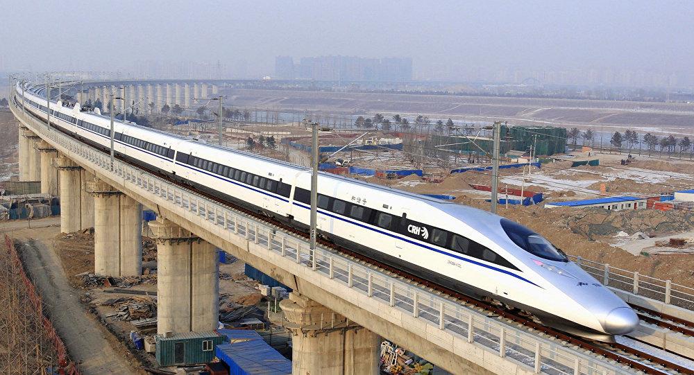 Trem na China (imagem ilustrativa)