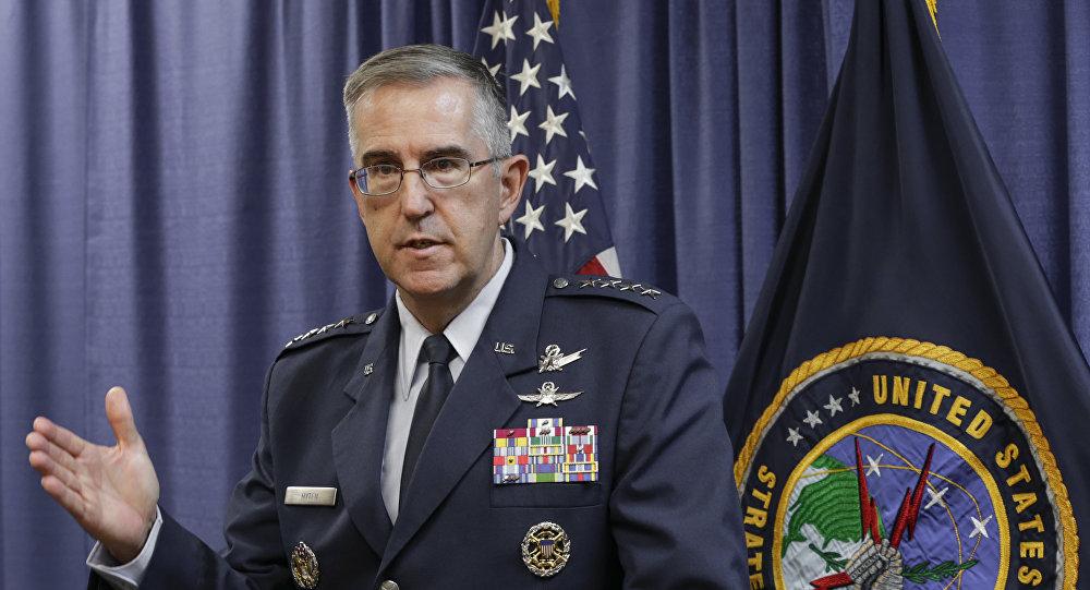 General norte-americano John Hyten, chefe do Comando Estratégico das Forças Armadas dos EUA