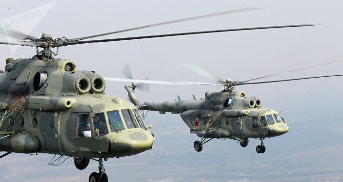 Helicópteros Mi-17 russos