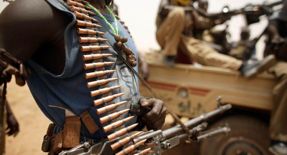Terroristas no Sudão