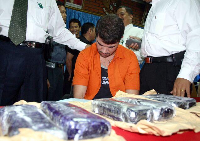 O brasileiro Rodrigo Gularte, condenado à morte na Indonésia por tráfico de drogas