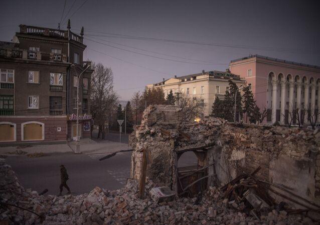 Bombas de fragmentação foram usadas contra a cidade de Lugansk afirma OSCE