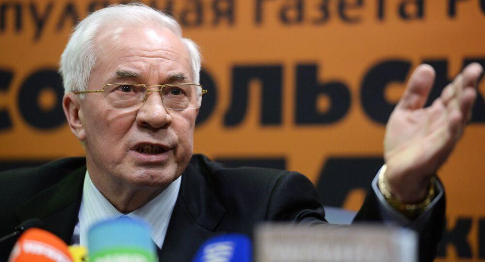 """Nikolai Azarov apresenta em Moscou o seu livro """"Encruzilhada da Ucrânia"""""""