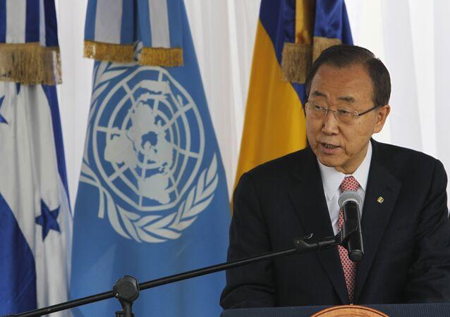 Secretário-geral da ONU apoia a evacuação de civis de Debaltsevo