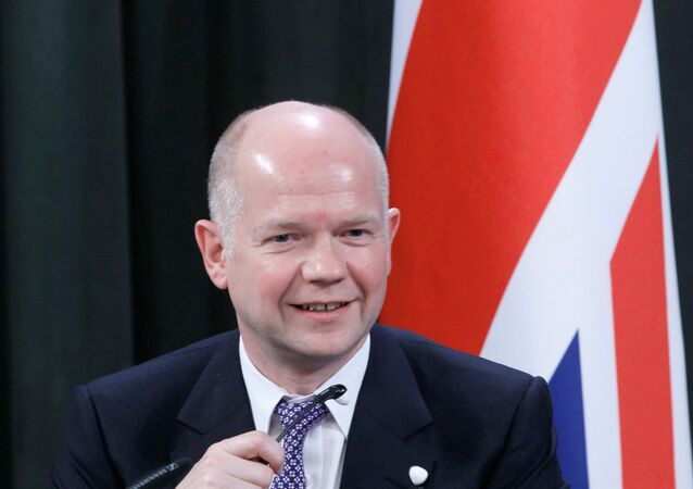 Ex-chanceler britânico William Hague