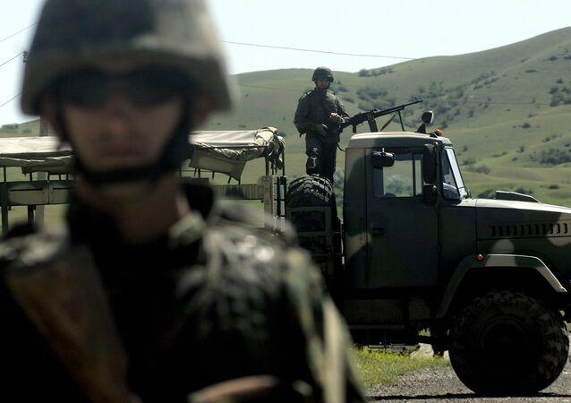 Forças da OTAN durante exercícios