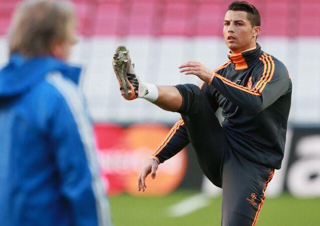 Futebol - Treinamento - Cristiano Ronaldo