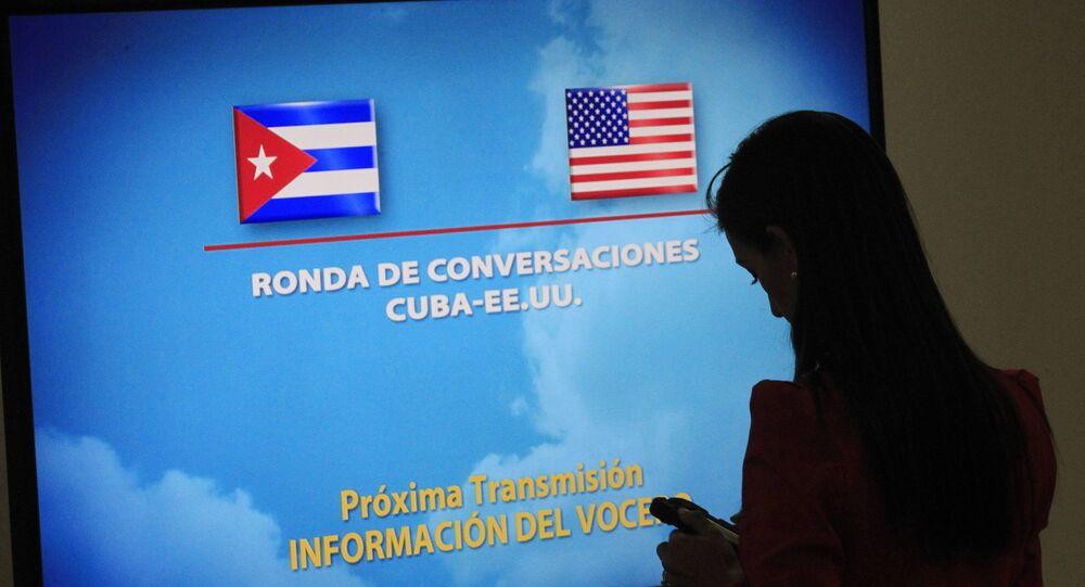 Normalização das relações entre Cuba e EUA
