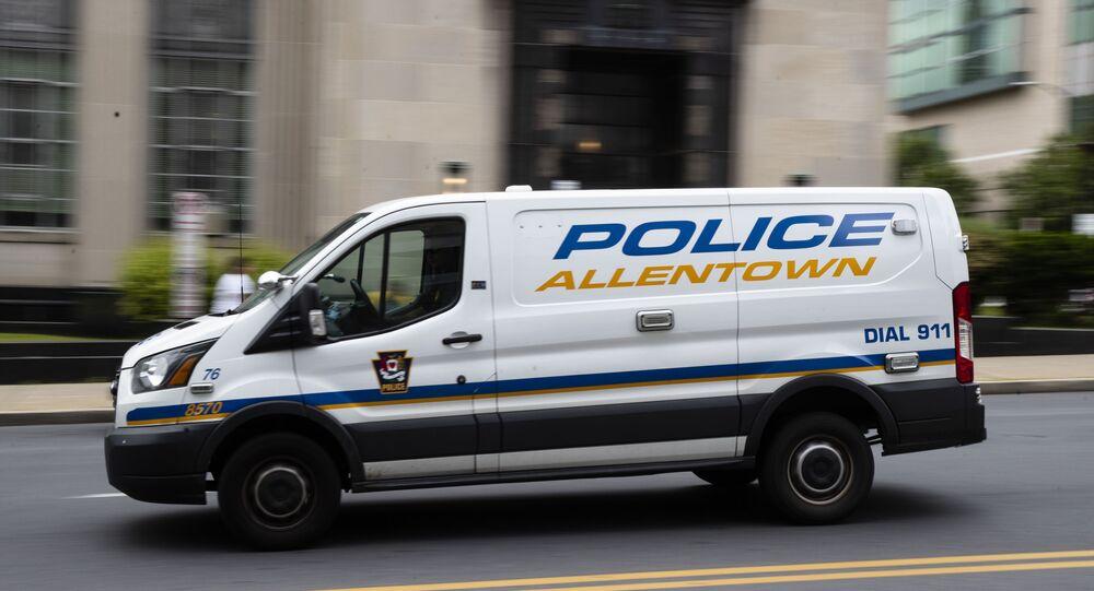 Viatura da polícia de Allentown, nos EUA