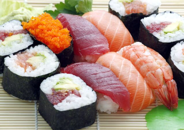 Foto de sashimi