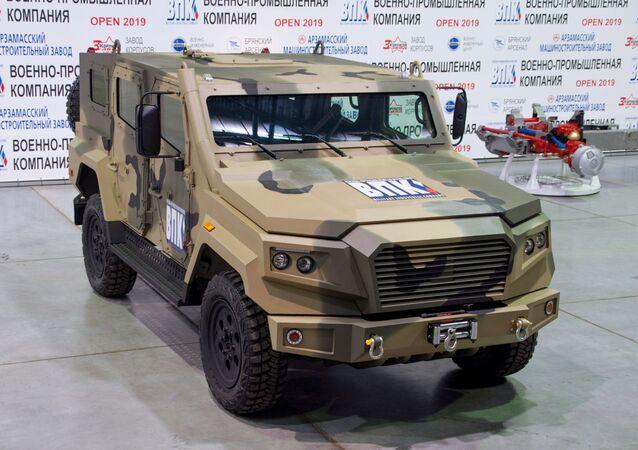 Strela, veículo blindado leve e veloz desenvolvido pela Rússia